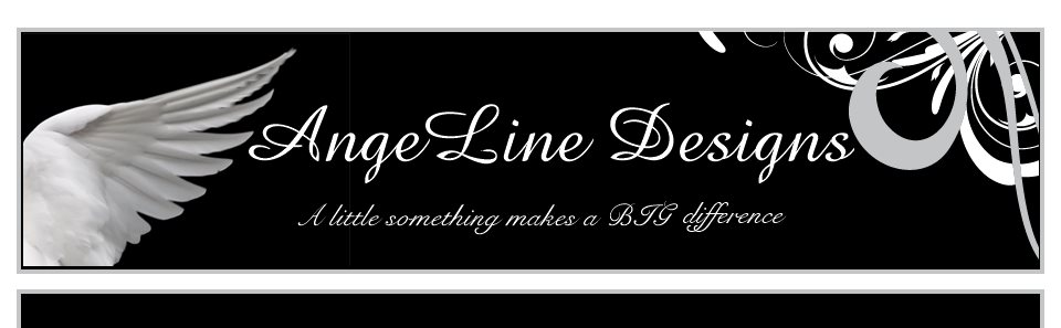 AngeLine Designs - A little something makes a BIG difference.